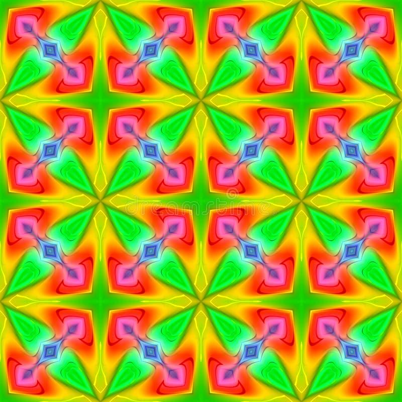 Abstracte naadloos herhaalt patroon vector illustratie