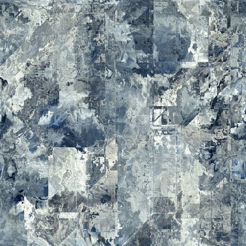 Abstracte naadloze achtergrond vector illustratie