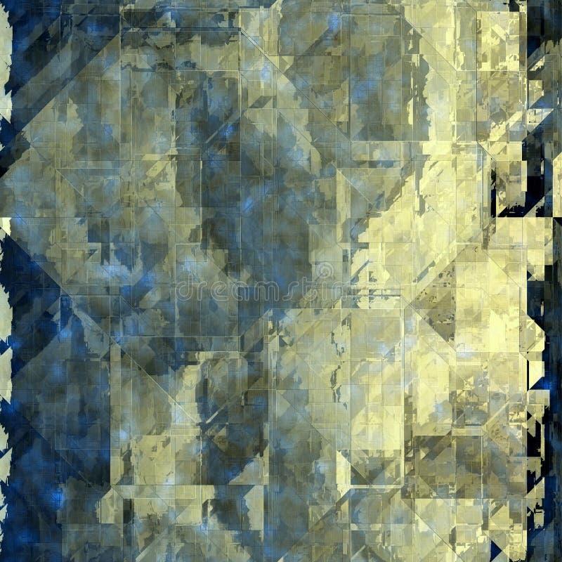 Abstracte naadloze achtergrond royalty-vrije illustratie