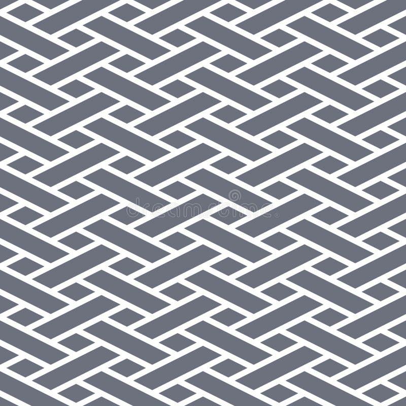 Abstracte naadloze geometrische achtergrond vector illustratie