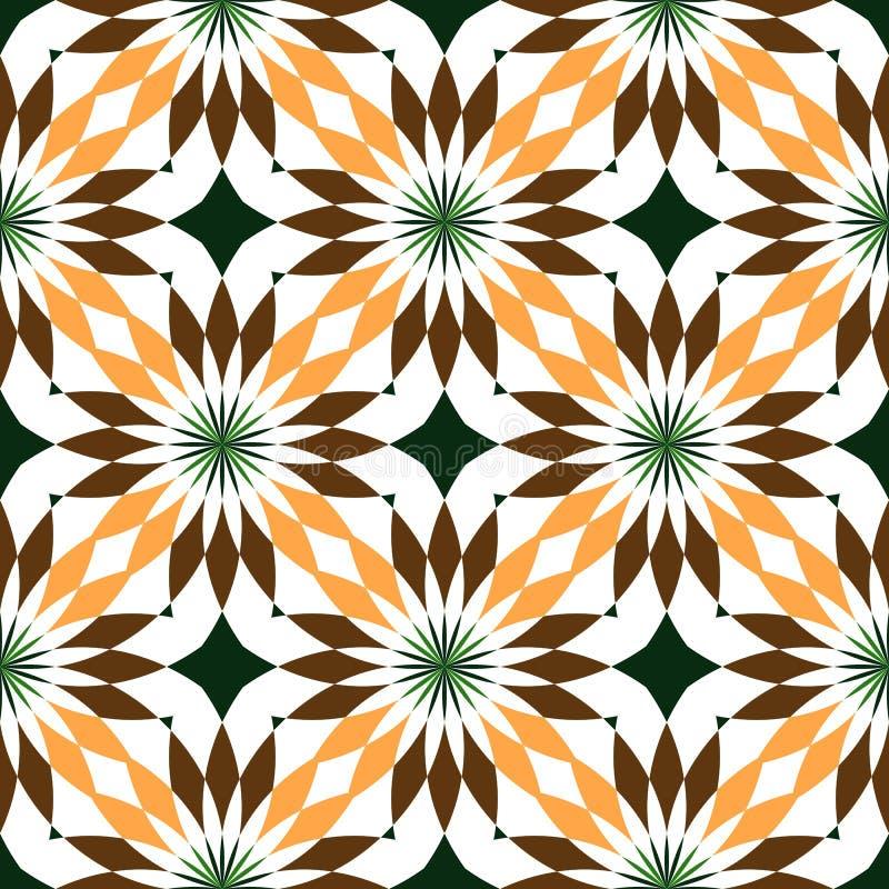 Abstracte naadloze geometrische patronen Naadloze caleidoscoop Geometrisch patroon royalty-vrije illustratie