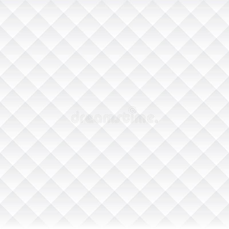 Abstracte Naadloze Lichte Geruite het Patroonachtergrond van de Kubusluxe stock illustratie