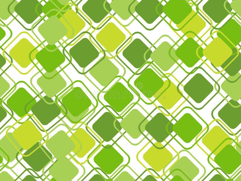 Abstracte naadloze patroonachtergrond stock illustratie