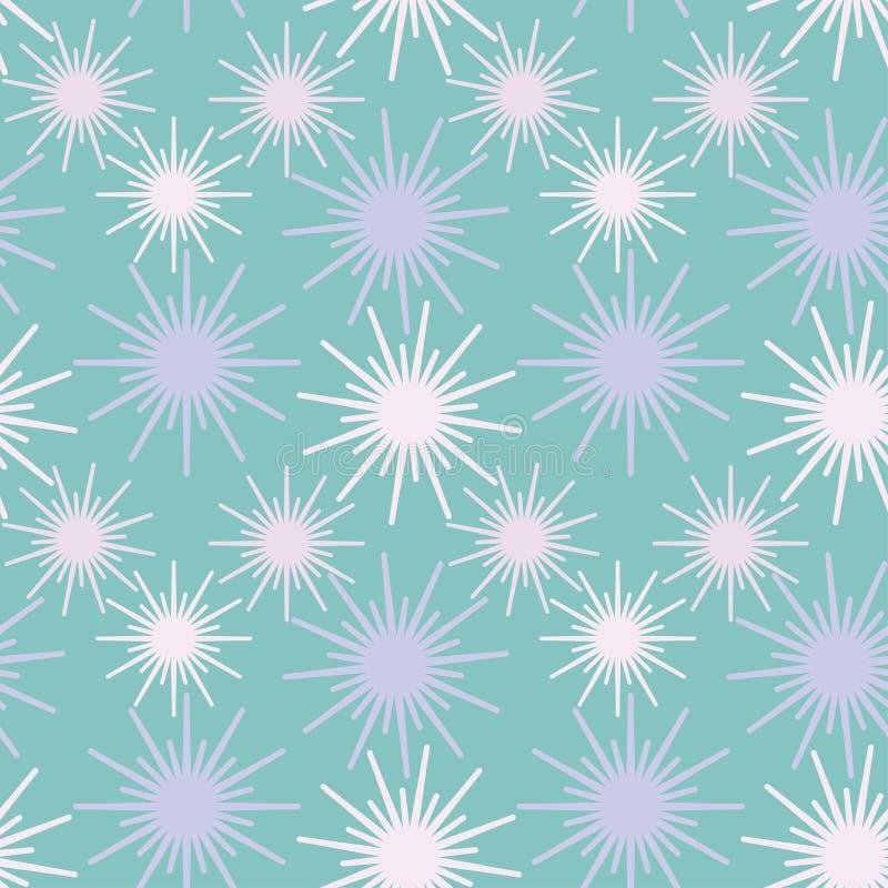 Abstracte naadloze vector achtergrondpatroonillustratie vector illustratie