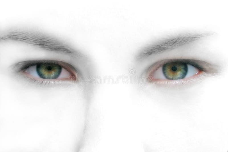 Abstracte ogen stock foto's