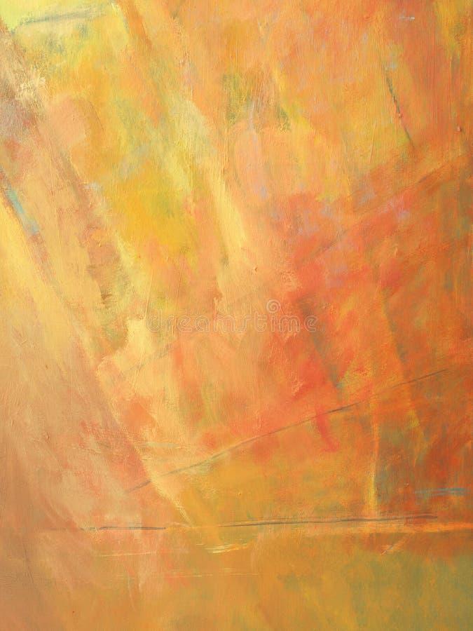 Abstracte olieverfschilderijachtergrond stock illustratie