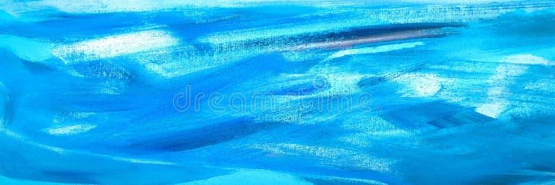 Abstracte olieverftextuur op canvas, het abstracte schilderen als achtergrond De textuurachtergrond van de verf royalty-vrije stock foto's