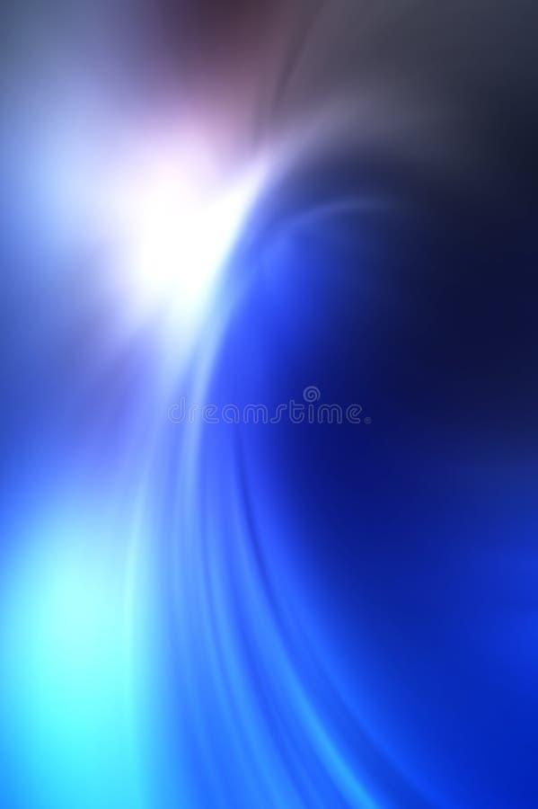 Abstracte onscherpe achtergrond die van blauwe tonen wordt gemaakt vector illustratie