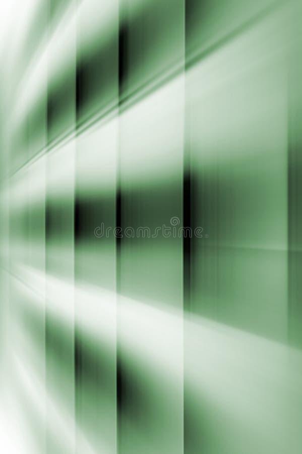 Abstracte onscherpe achtergrond in groene tonen vector illustratie
