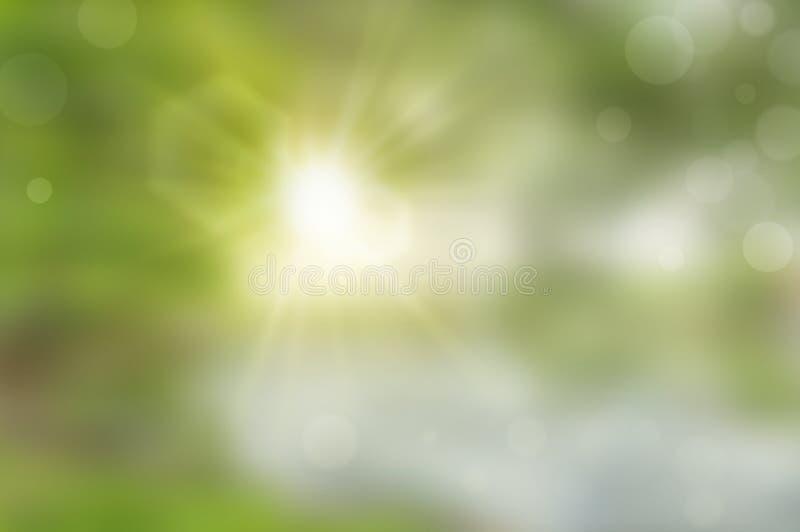 Abstracte onscherpe groene achtergrond stock afbeelding