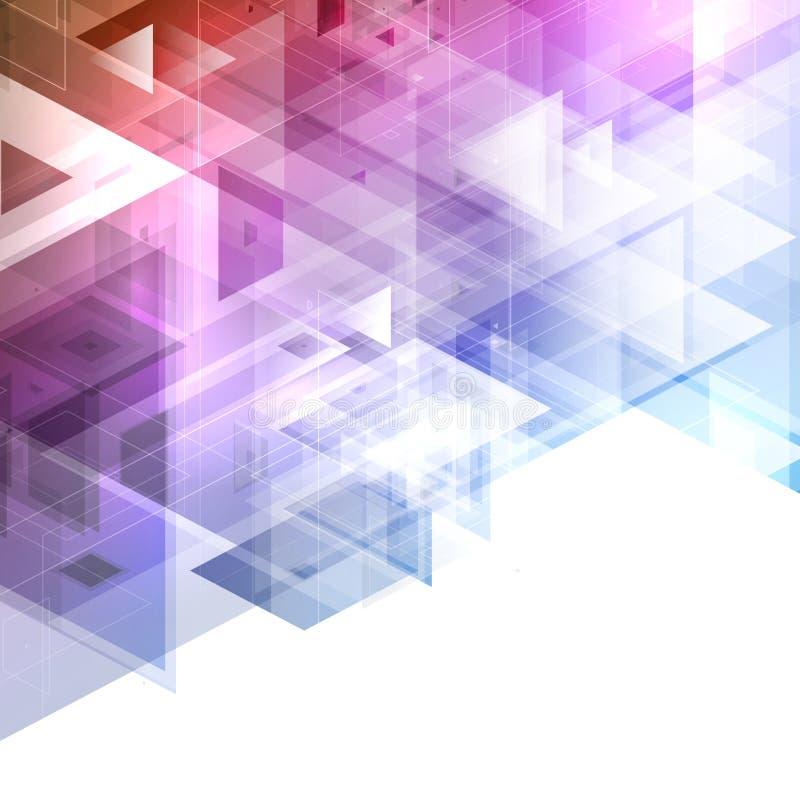Abstracte ontwerpachtergrond vector illustratie