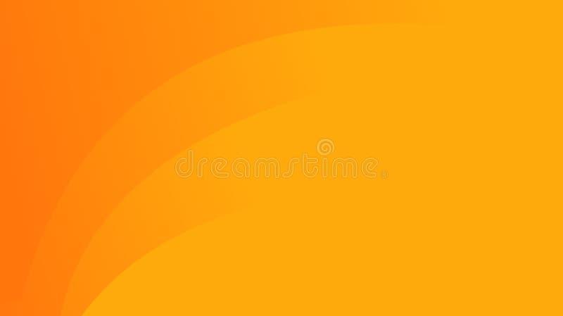 Abstracte oranje achtergrond stock illustratie