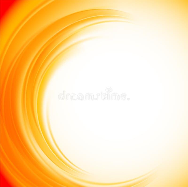 Abstracte oranje achtergrond vector illustratie
