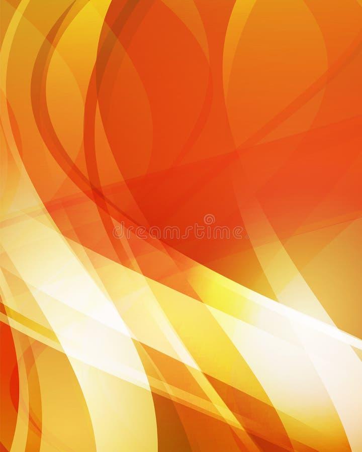 Abstracte oranje achtergrond 4 vector illustratie