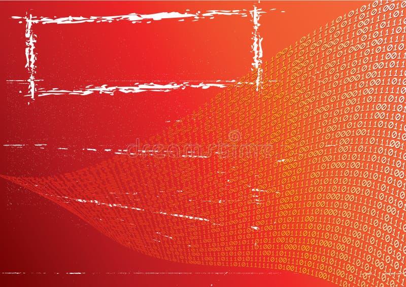 Abstracte oranje achtergrond. royalty-vrije illustratie