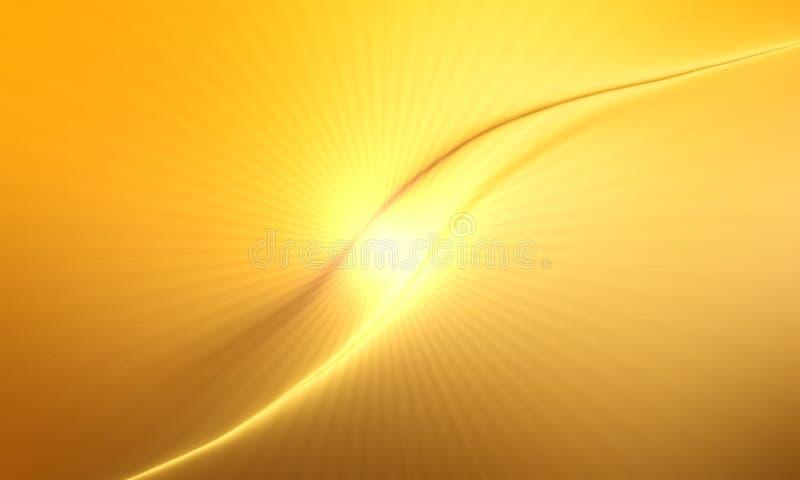 Abstracte Oranje achtergrond met heldere gradiënt en onduidelijk beeldgevolgenachtergrond, behang vector illustratie