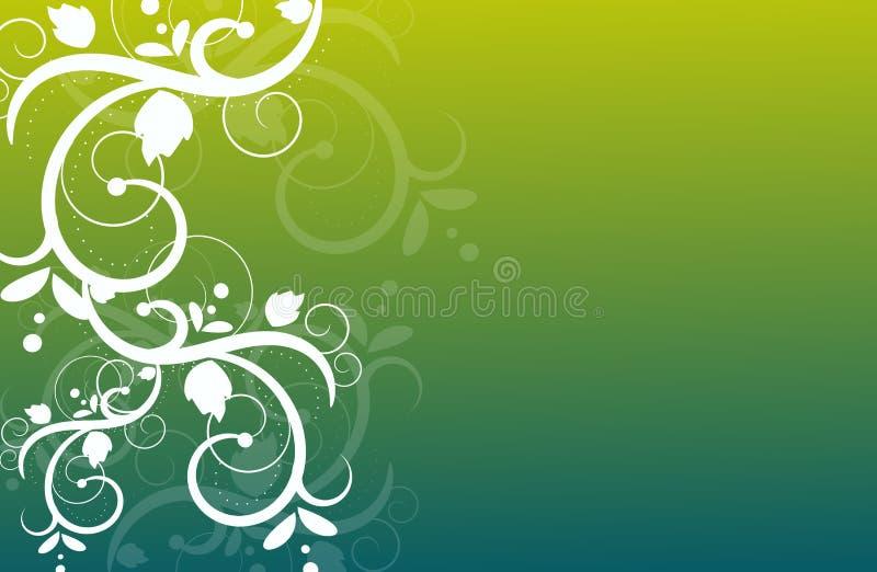 Abstracte ornamentenachtergrond royalty-vrije illustratie