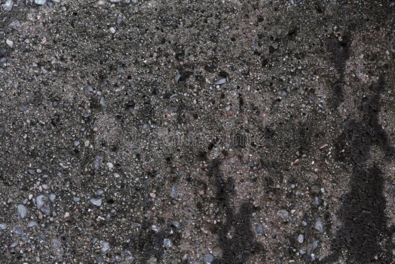 Abstracte Oude concrete textuur met zand en steen royalty-vrije stock afbeeldingen