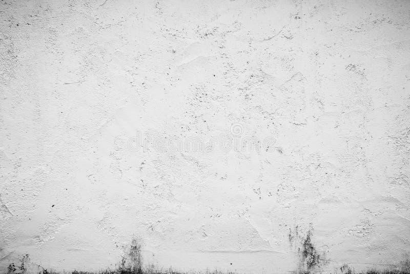 abstracte oude witte ruwe textuur van beton royalty-vrije stock afbeeldingen