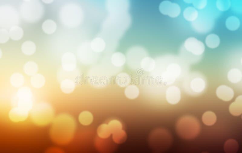 Abstracte Pastelkleur Lichte Achtergrond stock foto's
