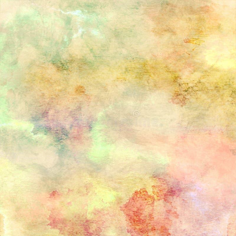 Abstracte pastelkleurachtergrond 1 vector illustratie