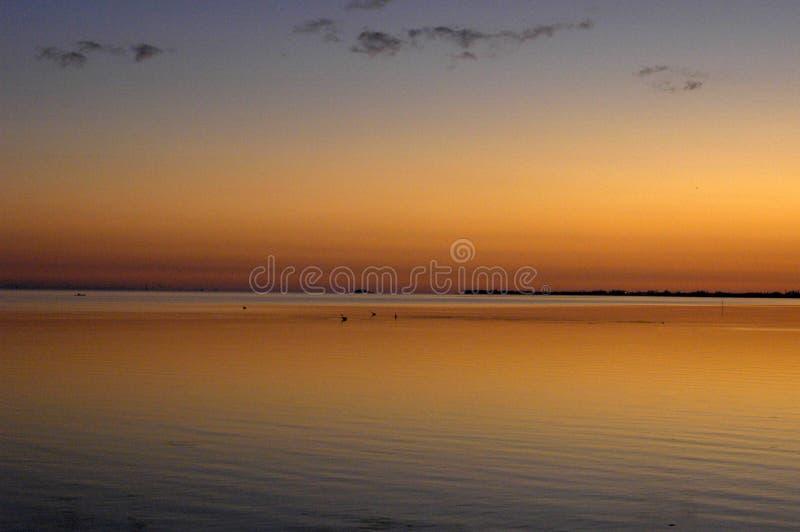 Abstracte pastelkleuren als achtergrond van de oceaan stock fotografie