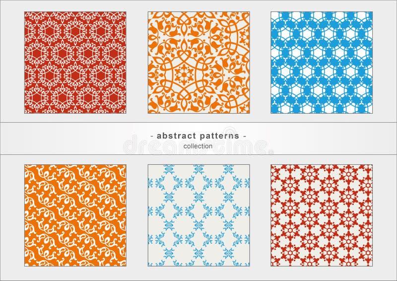 Abstracte patronen stock foto's