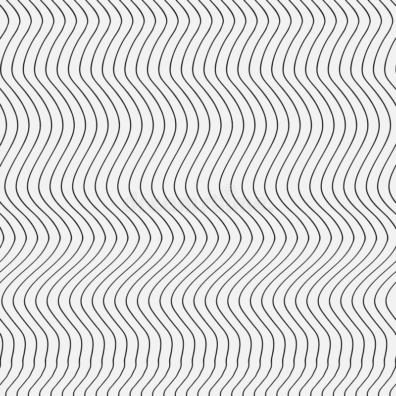 Abstracte patroonstrepen royalty-vrije illustratie
