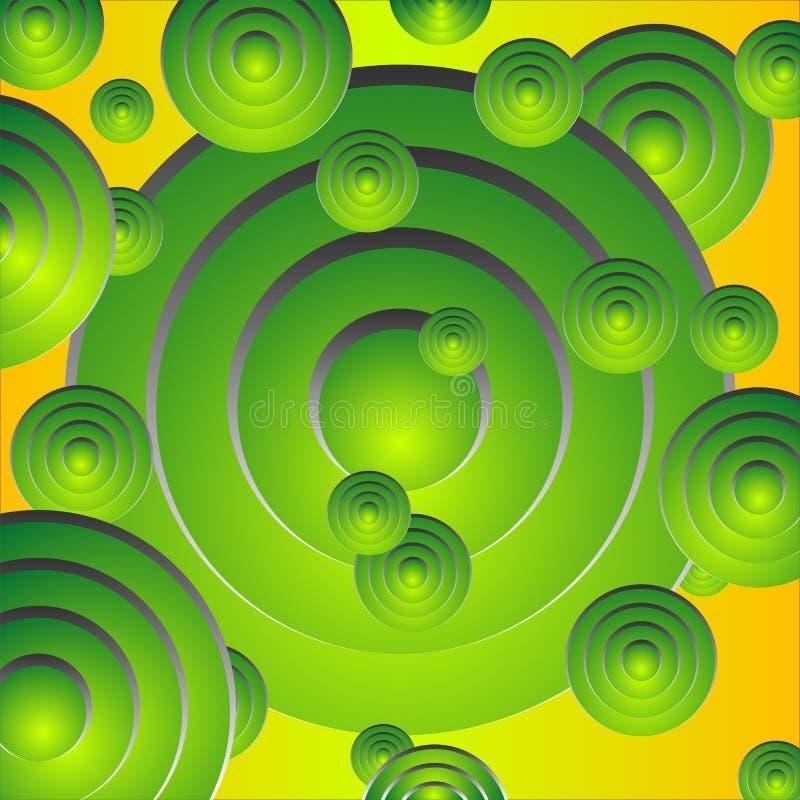 Abstracte pattern_70 vector illustratie