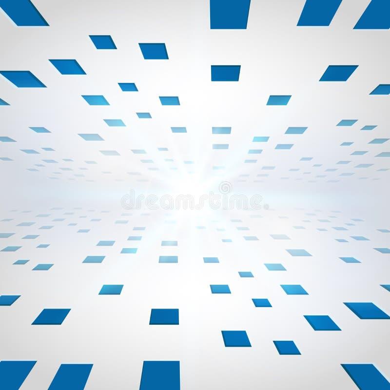Download Abstracte Perspectiefachtergrond Vector Illustratie - Illustratie bestaande uit helder, achtergrond: 107709047