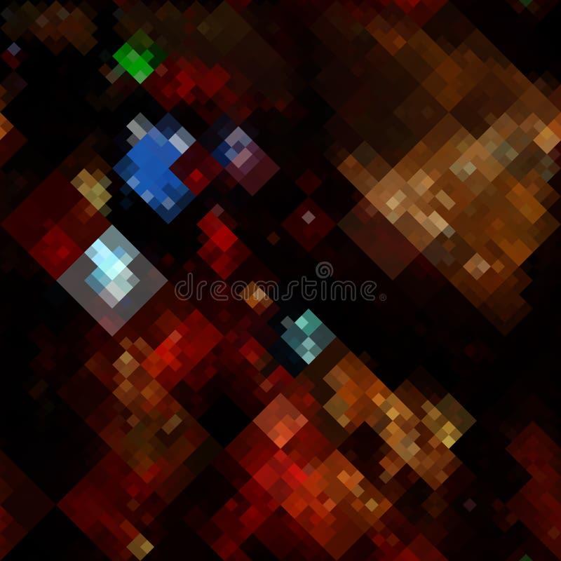 Abstracte pixel stock illustratie