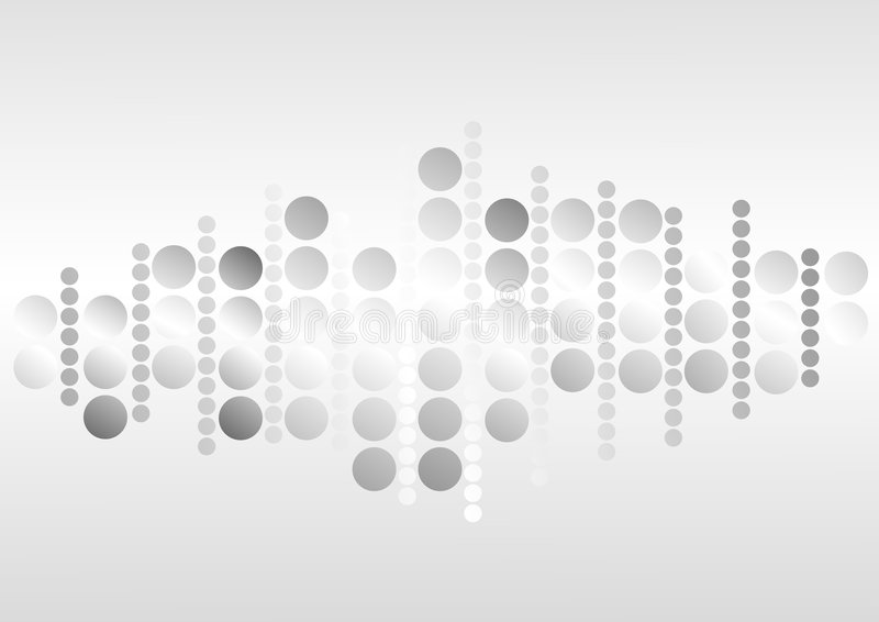 Abstracte puntenachtergrond stock illustratie