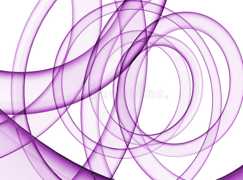 Abstracte purpere draaikolk vector illustratie