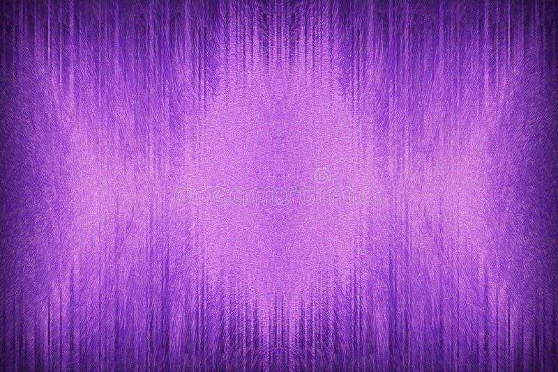 abstracte purpere Symfonie die als achtergrond de bezinning van de lijngolf in de schaduw stellen royalty-vrije stock afbeelding