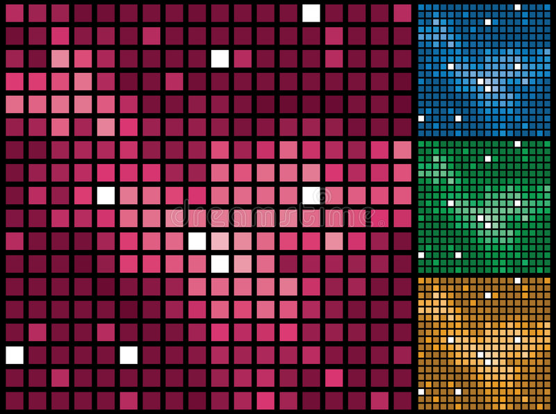 Abstracte purpere tegelsachtergrond. royalty-vrije illustratie