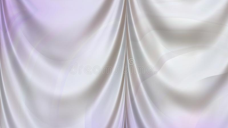 Abstracte Purple en Grey Drapes Texture stock illustratie