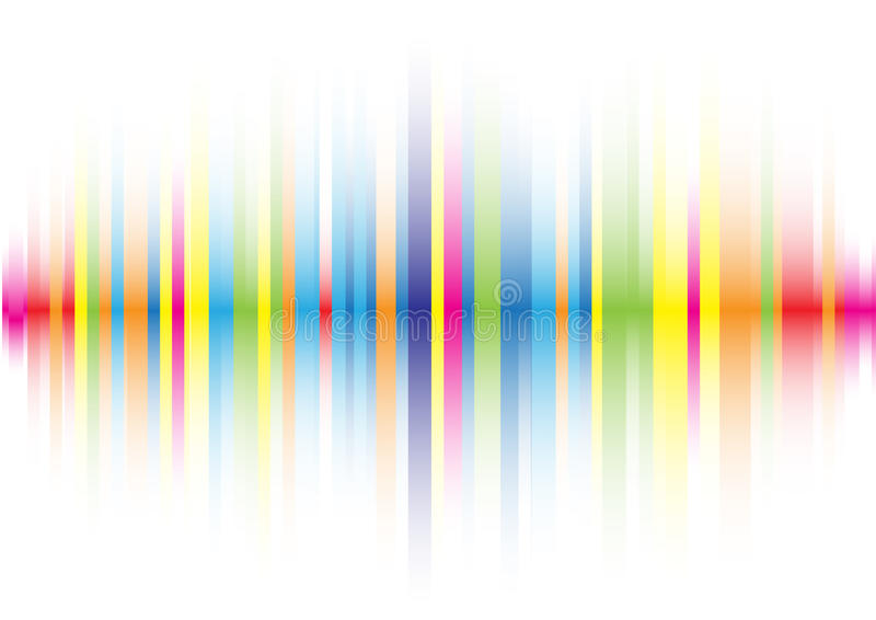 Abstracte rassenbarrièreachtergrond vector illustratie