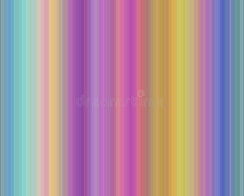 Abstracte regenboog gekleurde achtergrond stock illustratie