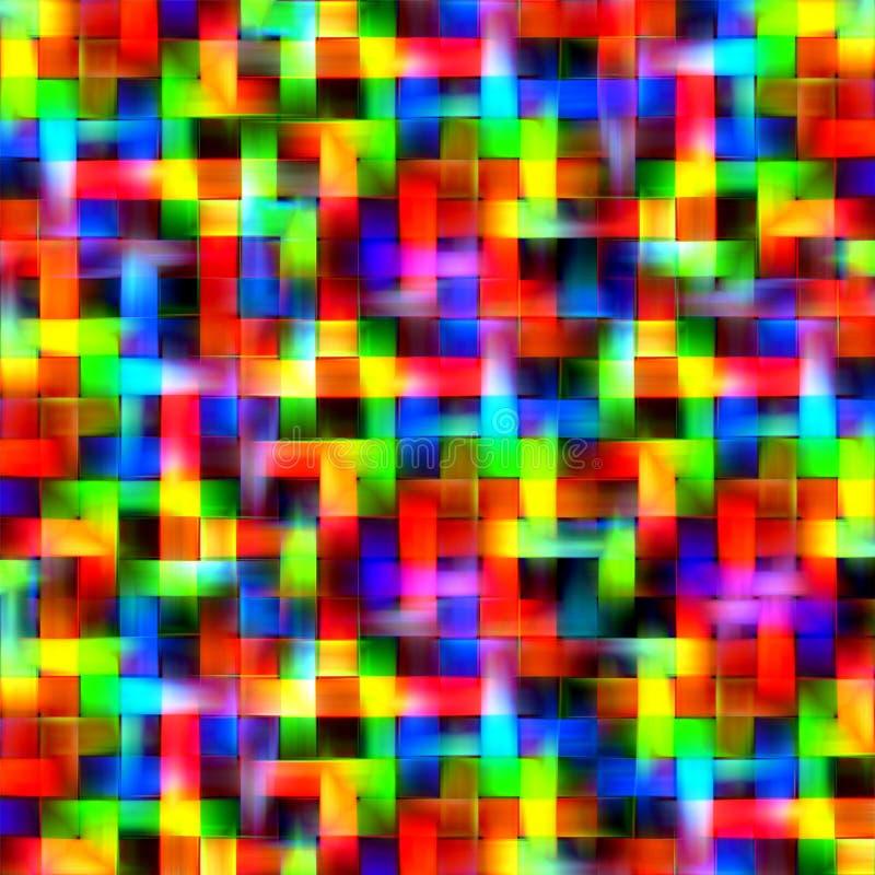 Abstracte regenboog vage van de de plonsverf van de lijnenkleur de kunstachtergrond royalty-vrije illustratie