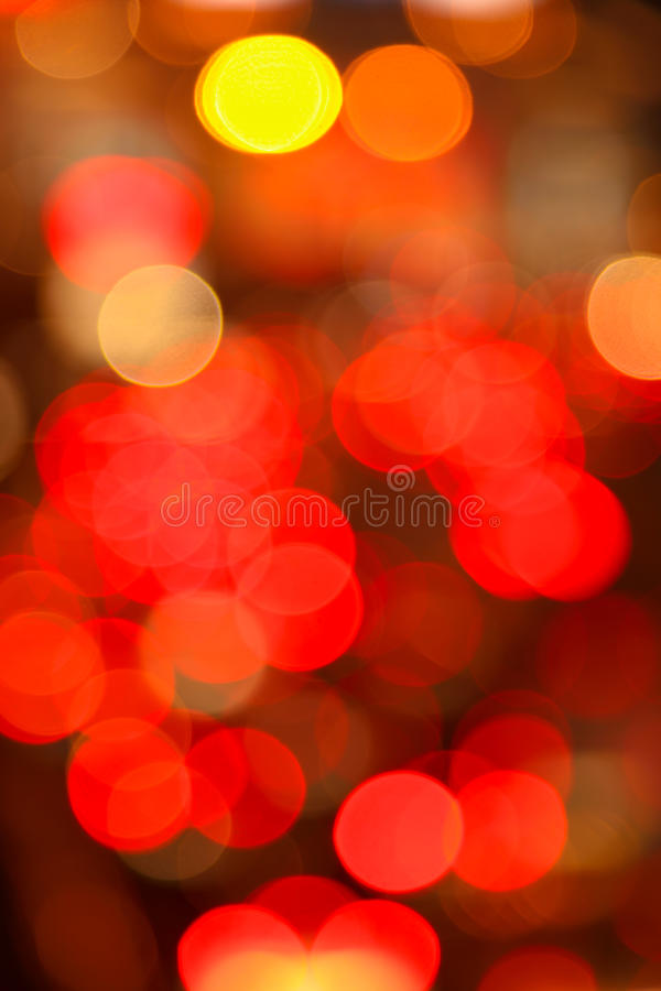 Abstracte regenbooglichten royalty-vrije stock afbeeldingen