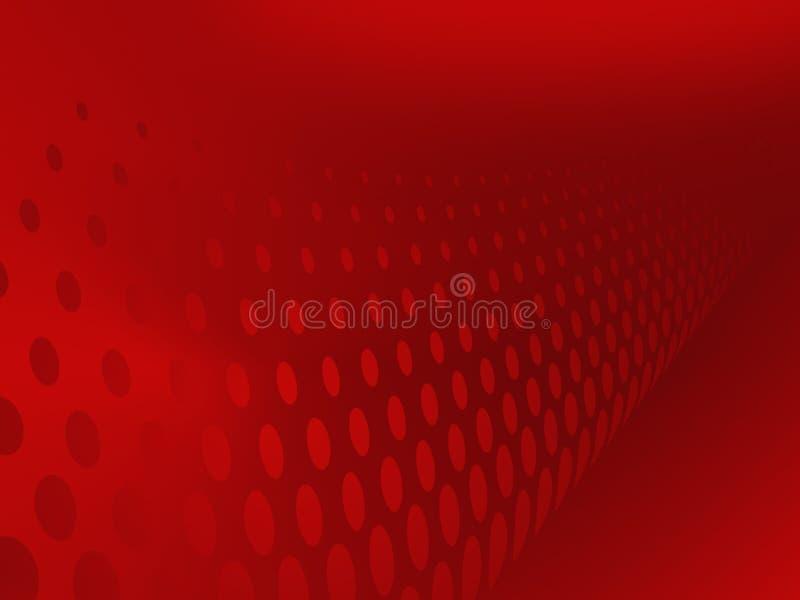 Abstracte Rode Achtergrond royalty-vrije illustratie