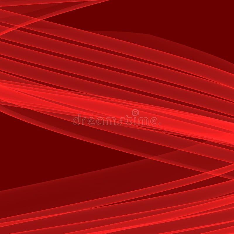 Abstracte rode achtergrond Heldere rode lijnen Geometrisch patroon in rode kleuren royalty-vrije illustratie
