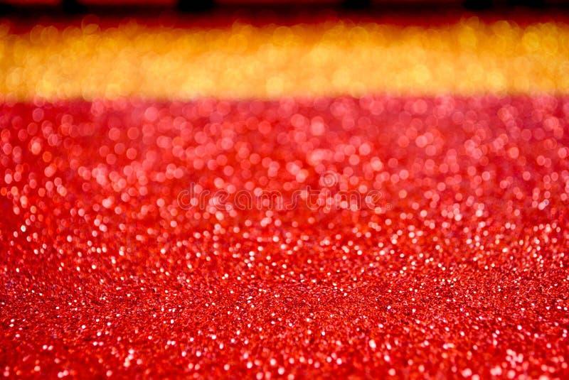 Abstracte rode en oranje kaart stock foto