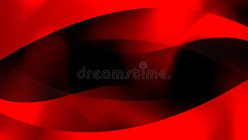 Abstracte rode en zwarte in de schaduw gestelde geweven achtergrond document grunge achtergrondtextuur Achtergrond behang vector illustratie