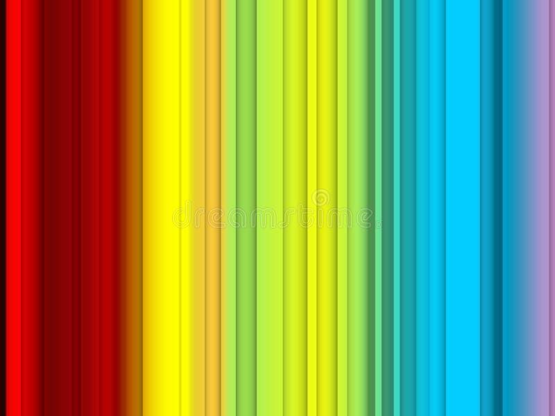 Abstracte rode gele blauwe kleuren, lijnen, fonkelende achtergrond, grafiek, abstracte achtergrond en textuur royalty-vrije illustratie