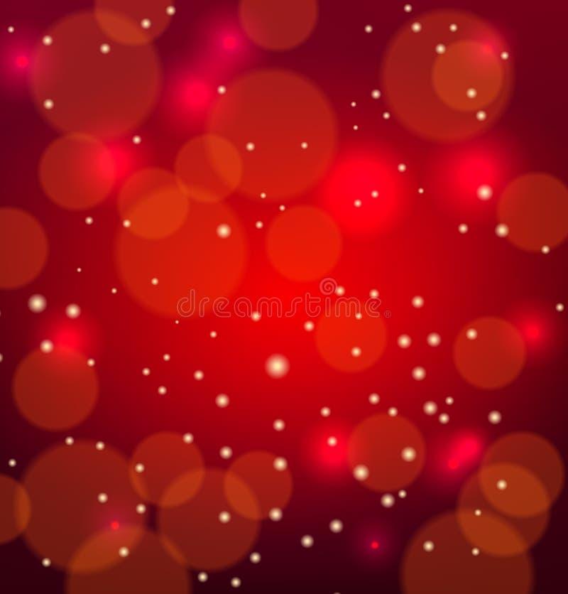 Abstracte rode vectoral achtergrond vector illustratie