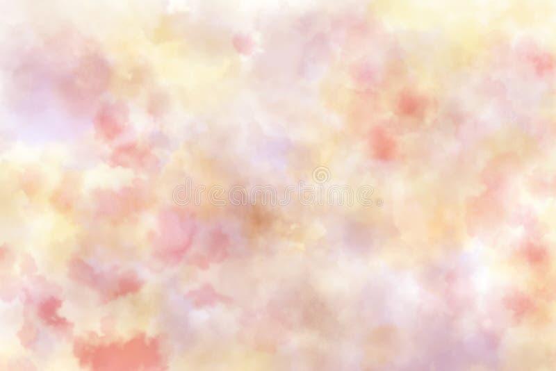 Abstracte rode waterverf op witte achtergrond Kleur het bespatten op het document vector illustratie