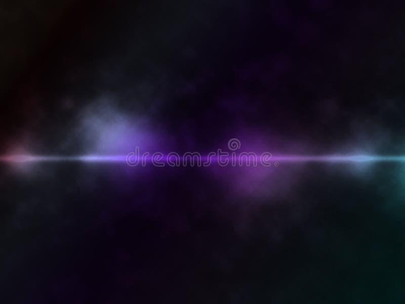 Abstracte rokerige lijnachtergrond vector illustratie
