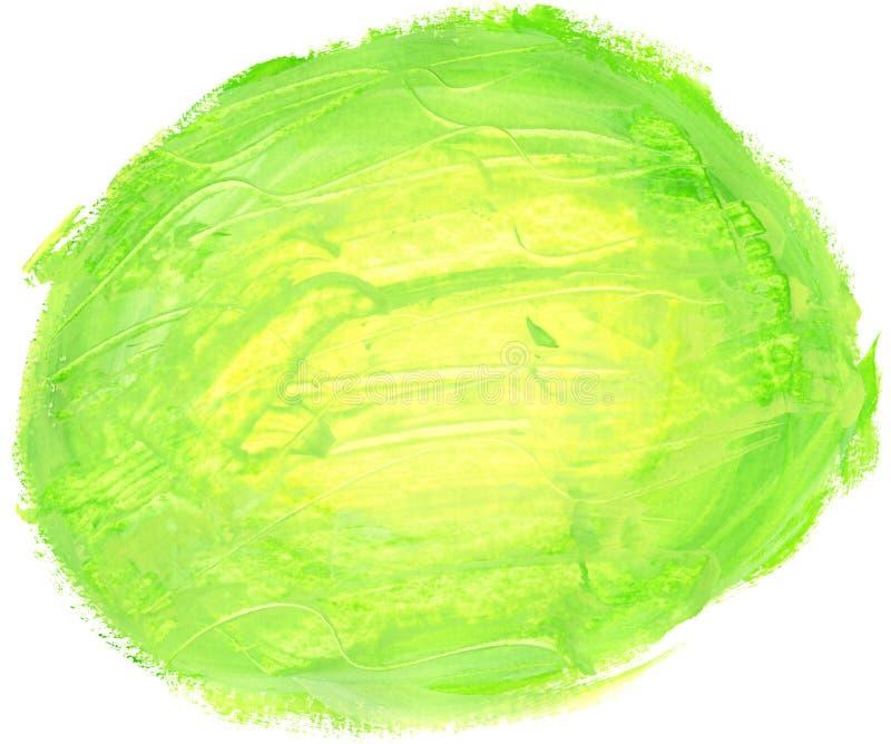 Abstracte ronde waterverfachtergrond. royalty-vrije illustratie