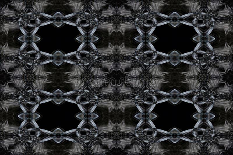 Abstracte Rook Art Pattern royalty-vrije illustratie